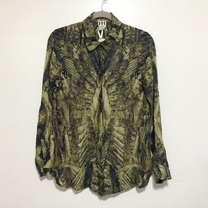 Brand new / haute hippie silk shirts
